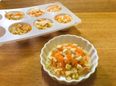 作り置きで冷凍保存OK「切り干し大根の煮物」離乳食・幼児食|給食レシピ
